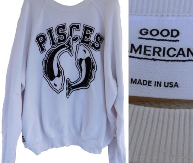 Good American Horoscope Sweatshirt Plus Size