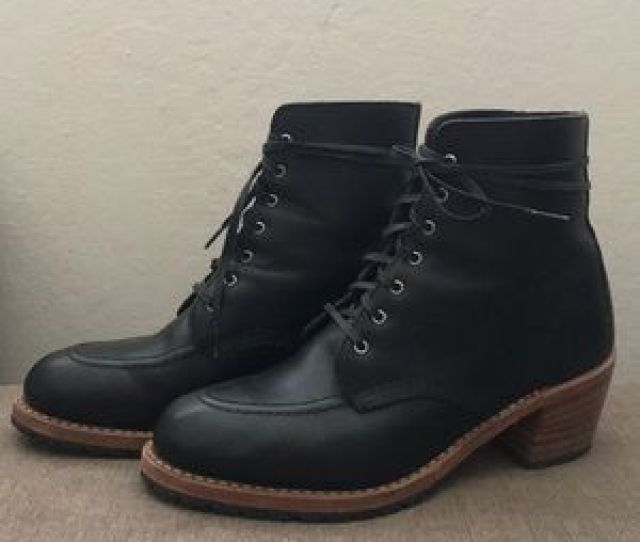 Red Wing Shoes Shoes Womens Red Wing Black Heritage Clara Boots