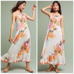 7c3742936e6 Anthropologie Dresses Farm Rio Havana Floral Dress Size S Poshmark