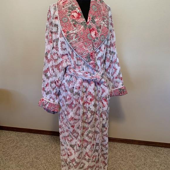 vintage stan herman chenille robe