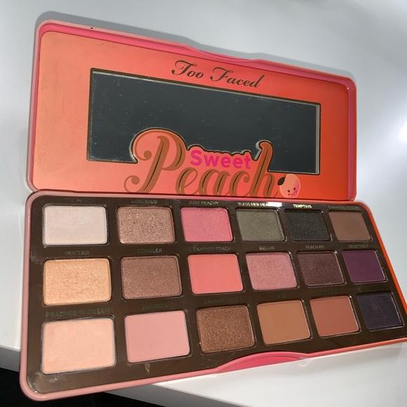 sweet peach palette # 37