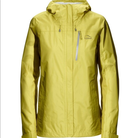 Ll Bean Trail Model Rain Jacket Nwt