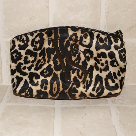 Victorias Secret Leopard Print Cosmetic