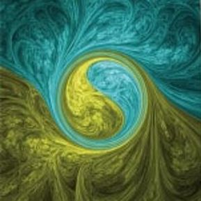 Image result for yin yang vortex painting