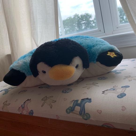 light up penguin pillow pet