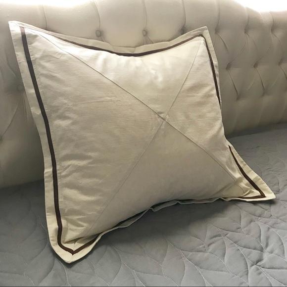 nautica euro pillow shams