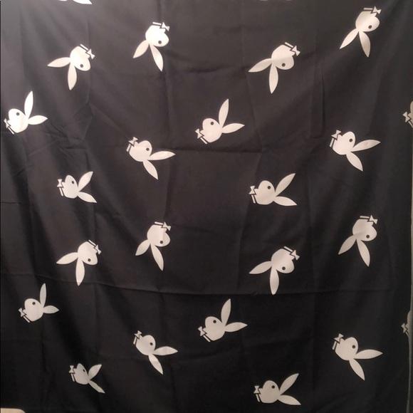 vintage playboy bunny shower curtain hooks