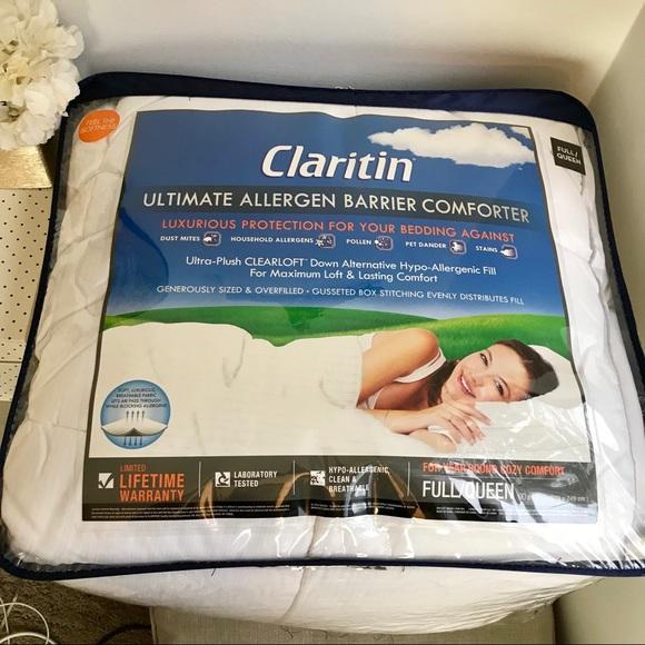 new claritin ultimate allergen barrier comforter