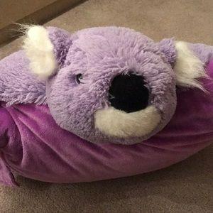 gently used koala bear cuddly pillow pets