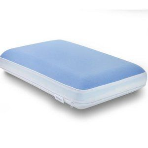lux living cooling memory foam pillow