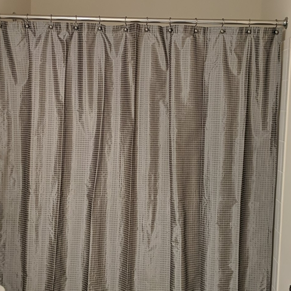 modern home by target silver gray shower curtain