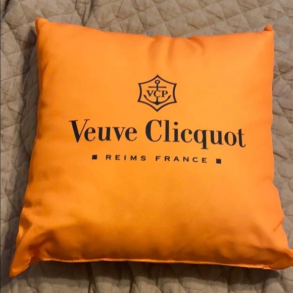 veuve clicquot pillow