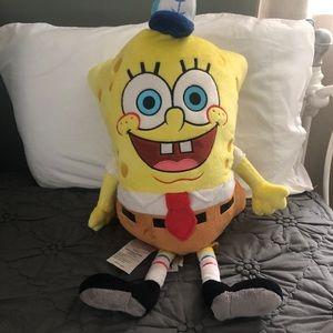 spongebob pillow pet