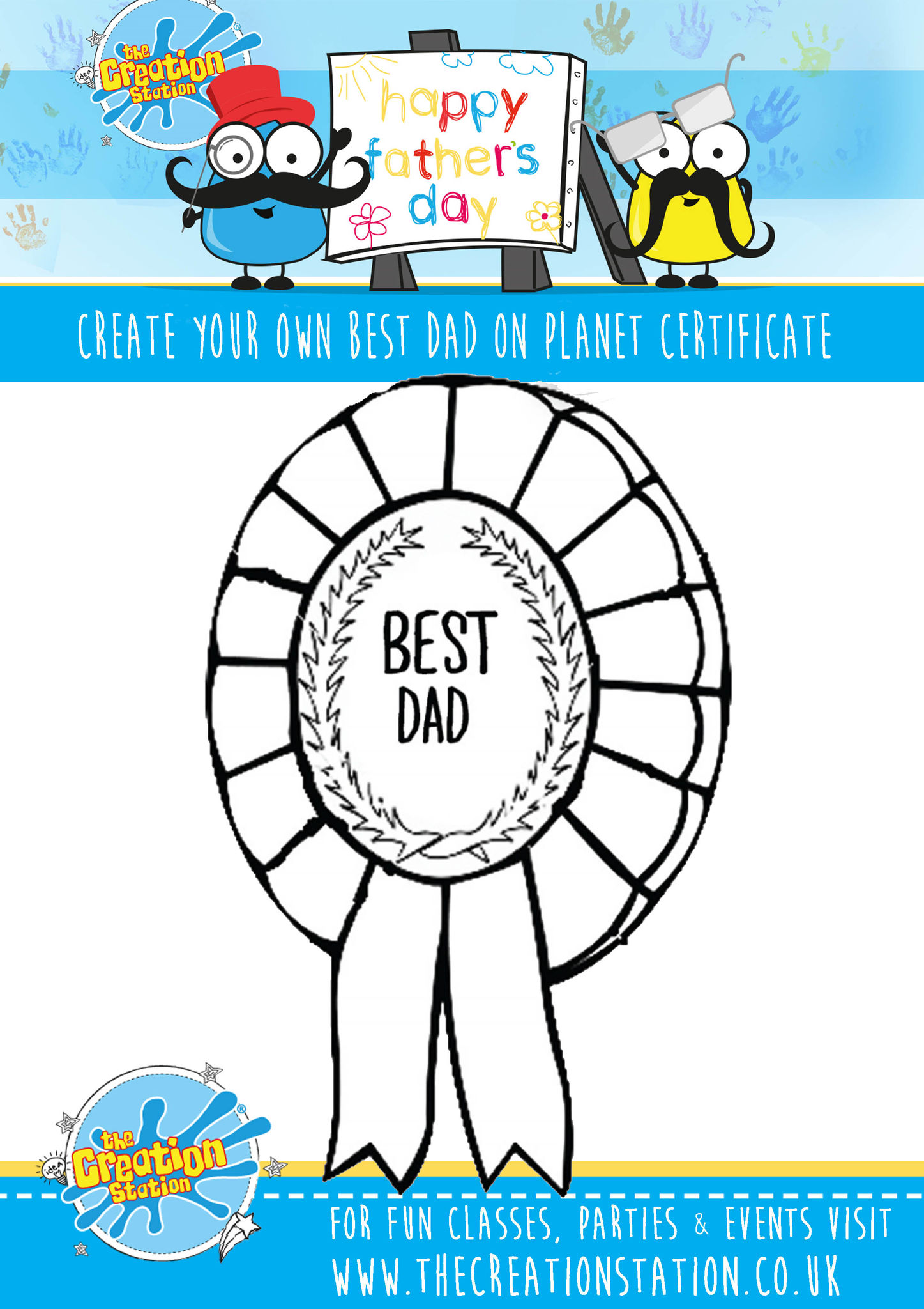 Father S Day Activity Sheet Free Download