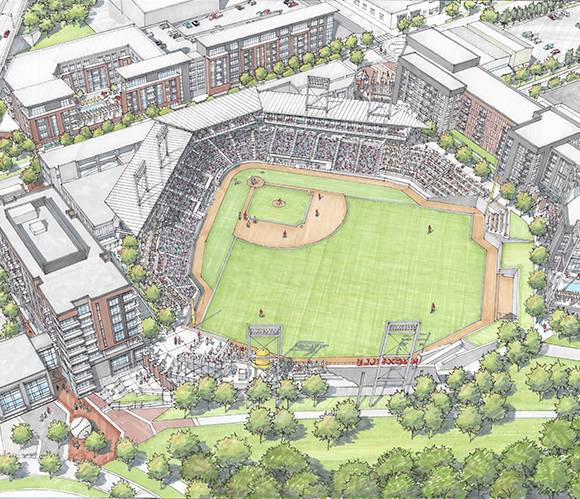 Downtown Knoxville Mixed-Use Stadium (1)