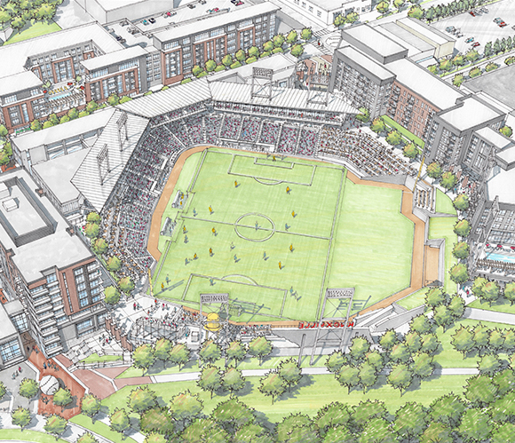 Downtown Knoxville Mixed-Use Stadium (2)