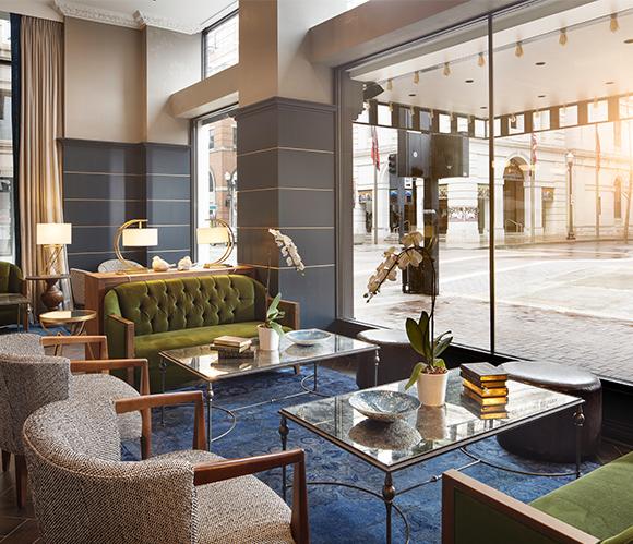 Hyatt Place - lobby sitting area