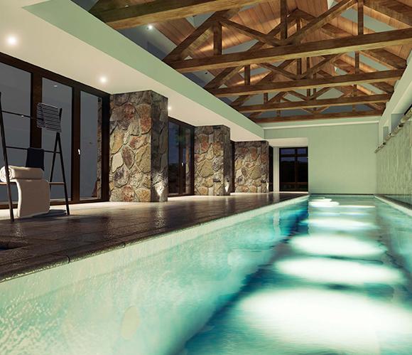 Lavish Indoor Pool House (3)