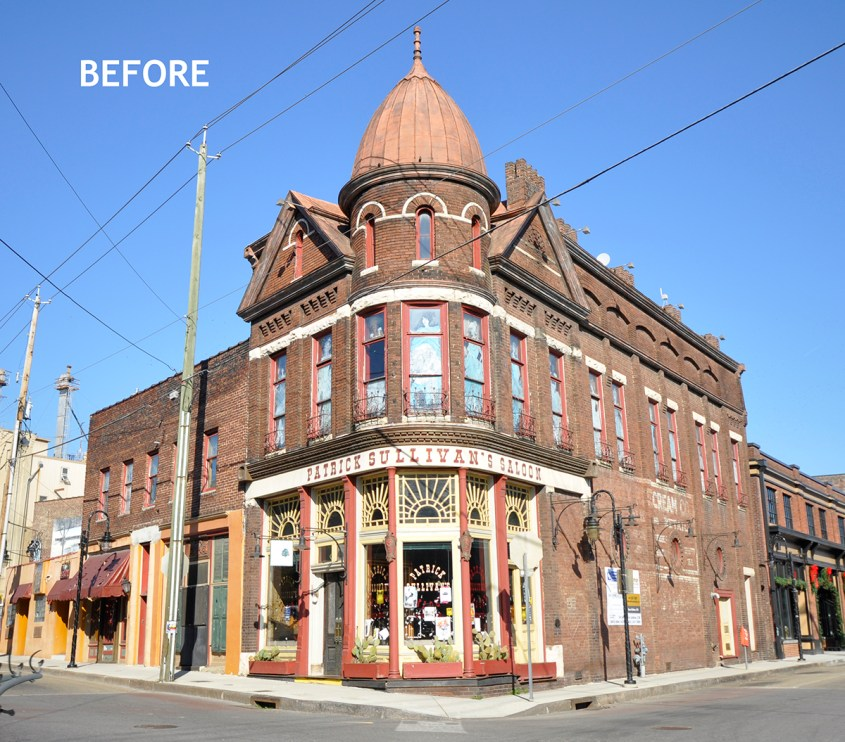 Sullivan's Before Exterior