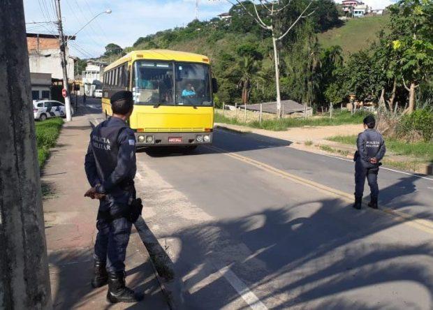 Polícia intensifica fiscalização contra transporte irregular de estudantes no Caparaó