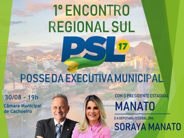 Nova Executiva do PSL de Cachoeiro toma posse nesta quinta