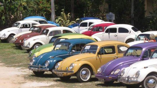 Fuscarreata e shows vão agitar encontro de carros antigos de Cachoeiro