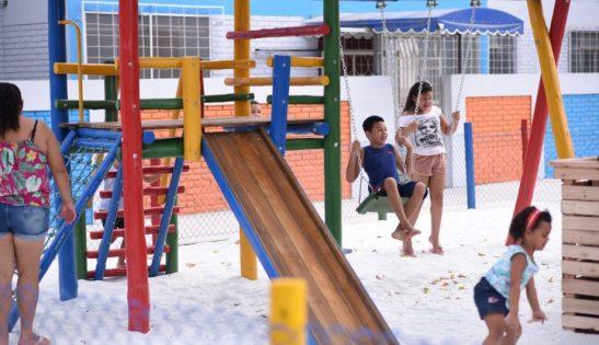 Chuvas adiam inauguração de playgrounds e academias em Cachoeiro