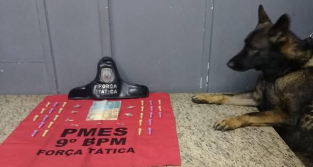 Faro de Messi não dá trégua ao tráfico de drogas em Cachoeiro