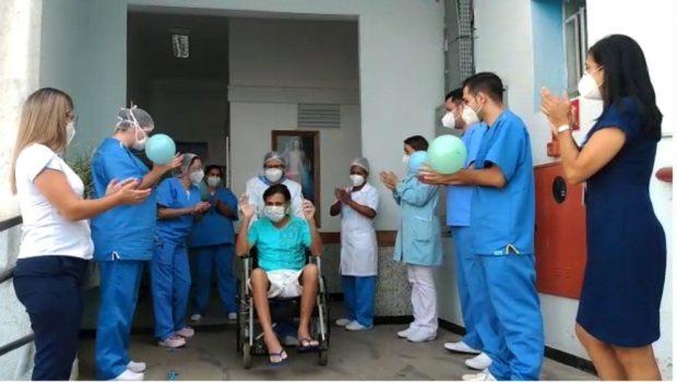 Paciente de Covid-19 tem alta da Santa Casa após 2 meses de internação