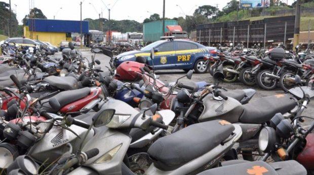 PRF vai leiloar veículos apreendidos no Espírito Santo até o dia 23