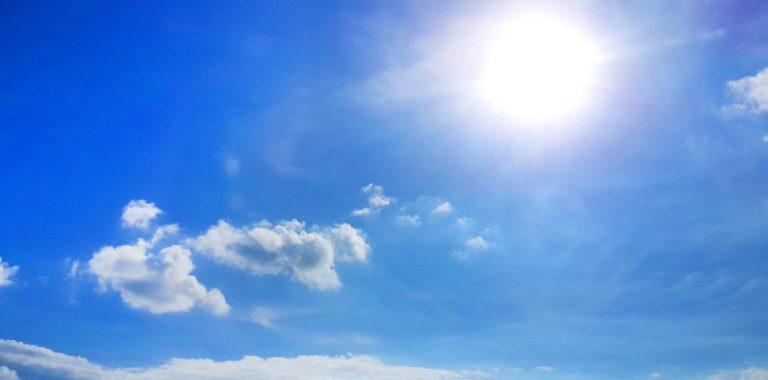 Tempo e temperatura – Sol e poucas nuvens hoje na Região Sul