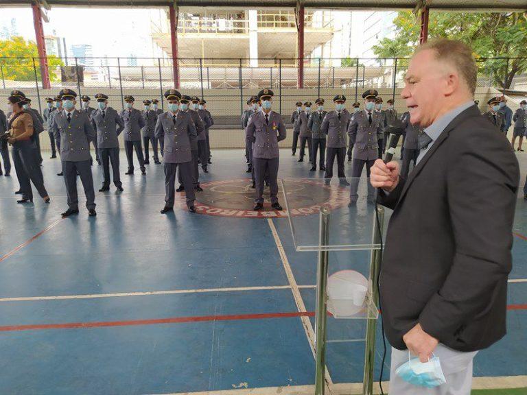 PM e Corpo de Bombeiros realizam formatura de novas turmas de sargentos