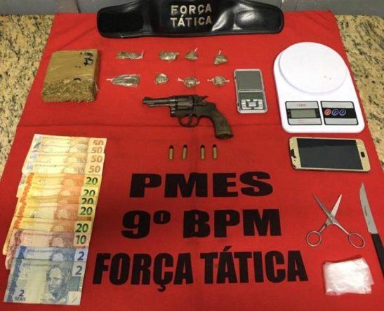 PM prende sete suspeitos em ações em Cachoeiro e Vargem Alta