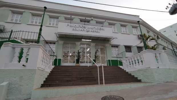 Reforma da Policlínica Municipal Bolívar de Abreu é concluída