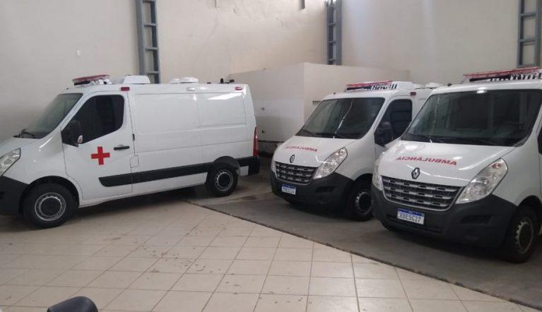 Secretaria de Saúde de Cachoeiro recebe quatro novas ambulâncias