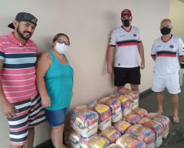 Natal Solidário arrecada mais de meia tonelada de alimentos em Atílio Vivácqua