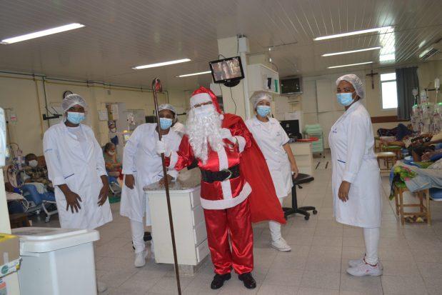 Programação de Natal na Santa Casa de Cachoeiro tem visita do Papai Noel e missa