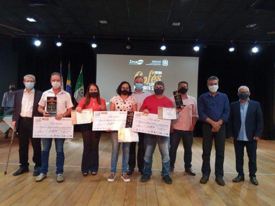 Produtores do Sul e Caparaó brilham no Prêmio Cafés Especiais