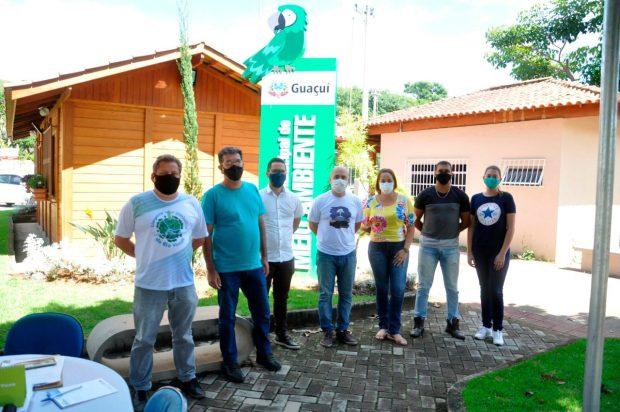 Equipe do Meio Ambiente se reúne e discute estratégias em Guaçuí