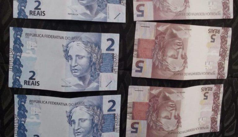 Guarda Municipal de Cachoeiro flagra suspeito com notas falsas