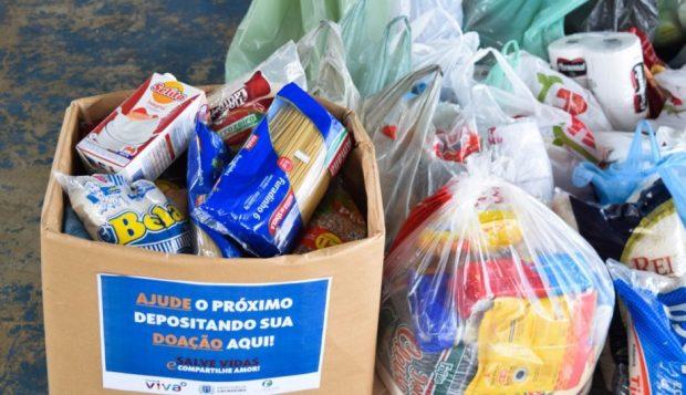 Ação solidária recolhe alimentos e produtos de limpeza no Baiminas, nesta quinta (22)