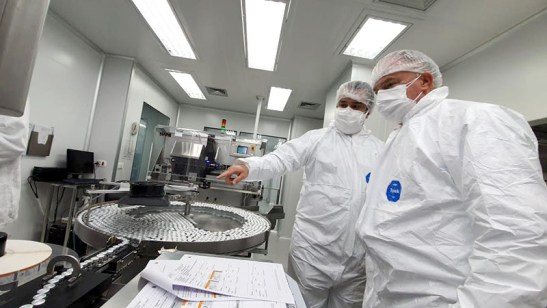 Casagrande formaliza interesse do ES em adquirir 4 milhões de doses da ButanVac