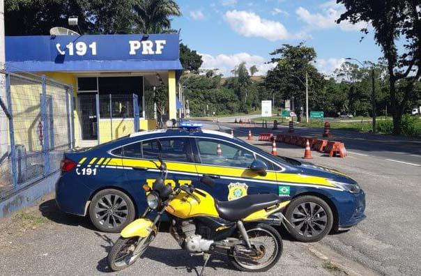 """Preso é detido com moto furtada no dia seguinte à """"saidinha do Dia das Mães"""""""