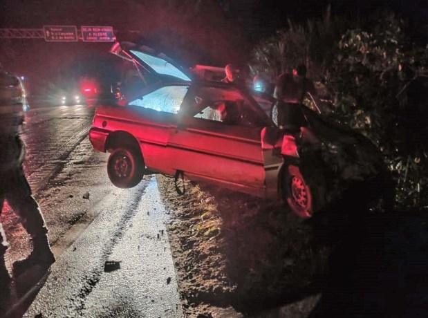 Motorista foge do local após se envolver em acidente com vítima fatal em Alegre