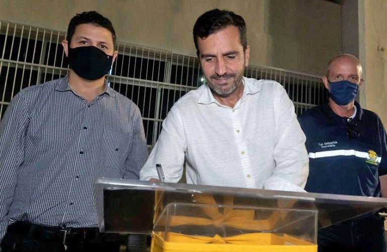 Detran e prefeitura iniciam processo de cerco inteligente em Itapemirim