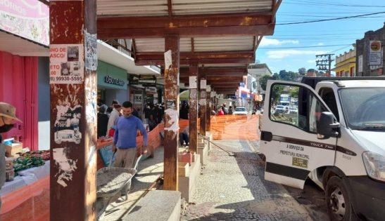 Cachoeiro inicia a instalação de novos abrigos de ônibus no bairro Guandu