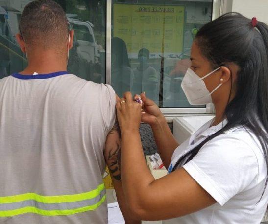 No Dia da Saúde, BRK orienta colaboradores e tira dúvidas sobre vacinas