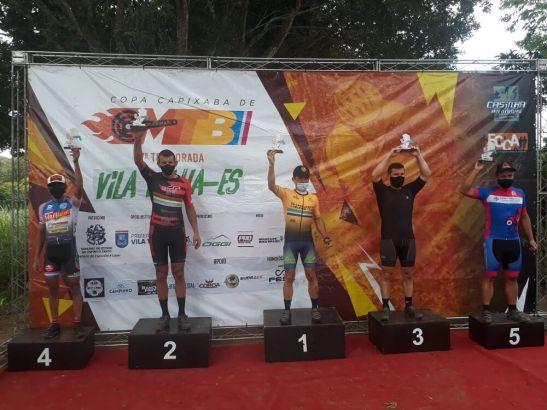 Família Cardoso: três pódios na 2ª etapa da Copa Capixaba de Ciclismo