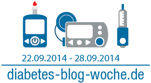 Diabetes Blog Woche 2014 Logo