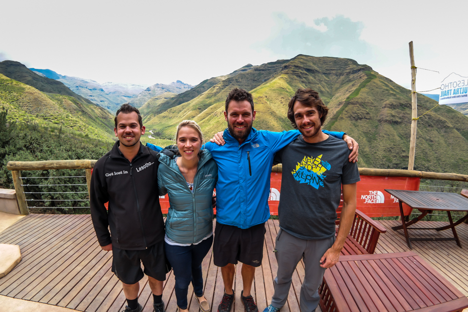 The Lesotho Ultra Trail organising team